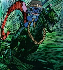 By Spike from the Jurassic Park arc of Extraordinary League