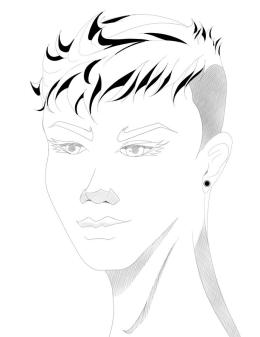 By Vladimir Duran, Luna's new haircut from Extraordinary League 32